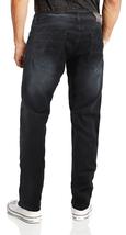 CS Men's Skinny Slim Fit Zip Fly Vintage Faded Wash Premium Denim Jeans image 7