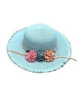 George Jimmy Summer Beach Hat Sun Visor Hat Bucket Sun Hat Straw Hat for... - £16.92 GBP