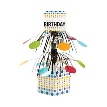 Birthday Pop Mini Cascade Centerpiece with Base, Case of 6 - €27,68 EUR