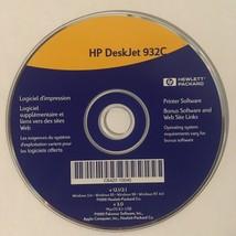 HP DeskJet 932C Printer Software CD - $4.94