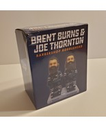 San Jose Sharks Brent Burns & Joe Thornton Barbershop Bobblehead SGA. New  - $35.00