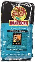 HEB Cafe Ole Whole Bean Coffee 12oz Bag (Pack of 3) (Texas Pecan - Medium Dark R - $39.57