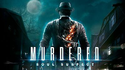 Primary image for Murdered Soul Suspect PC Steam Key NEW Download Game Fast Region Free