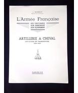 L'Armee Francaise Artillerie a Cheval Guides 1804-1815 Planche No 52 Off... - $9.95