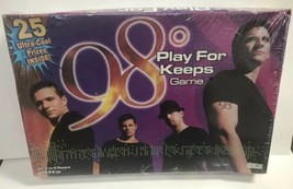 98 Degrees Board Game Play For Keeps Boy Band 2001 New In Sealed Box Shelf Wear - $29.69