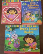 DORA Books Holiday Valentine's Halloween Easter Lift The Flap Boad Book  - $5.89