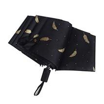 Compact Travel Umbrella,Windproof Canopy Frame,Lightweight Folding Umbrella for