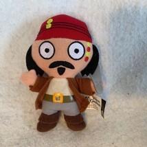 Disney Plush Pirates of the Caribbean Jack Sparrow McDonald's 2006 Small... - $9.49