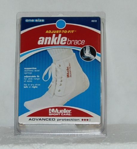 Mueller Sport Care 4572 Adjust To Fit Ankle Brace One Size Advanced Protection
