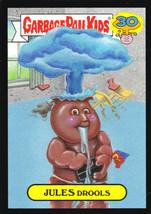 "2015 Garbage Pail Kids 30th Anniversary ""JULES DROOLS"" Black Border Card... - $1.25"