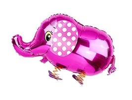 5 Pieces Lovely Cartoon Elephant Party Balloons - $14.94