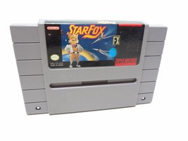 StarFox Game for Super Nintendo SNES System Console  - $19.71