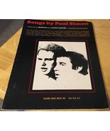 Sheet Music book Songs by Paul Simon original 1967 publication - $9.49