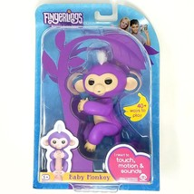 Fingerlings - Interactive Baby Monkey - Mia (Purple With White Hair) By ... - $14.24