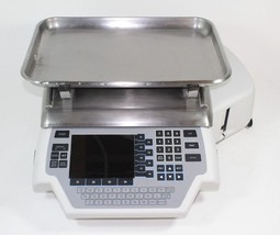 Hobart Quantum Commercial Deli Meat Seafood Scale W/ Label Printer & Dra... - $296.99
