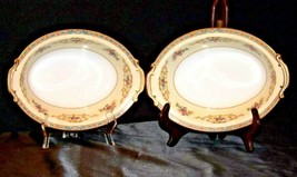 Noritake China Serving Bowls Colby 5032 AA19-1467 Vintage image 2