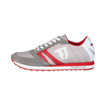 Grey Trainer Red Up Low Sneakers Lace 77S605 Trussardi Running Mens Shoes Top AnTPwqZ