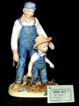 """Denim Days Figurine """"Horseshoes"""" 8808 AA20-7567 Vintage    - $69.95"""