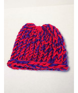 Red and Purple Baby Hat - $9.00
