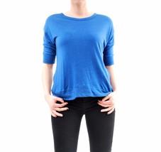 Sundry Women's New Short Sleeve Ribbed Hem T-Shirt Blue Size US 2 BCF65 - $52.46