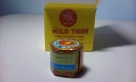 WILD TIGER BALM Herbal Rub Massage Muscles Ointment Menthol FAST PAIN RE... - $4.95