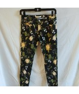 Levis 710 Super Skinny Black Girls Floral Pants Sz. 14 Reg. - $9.50