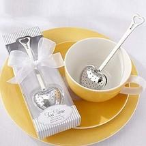 BERON Stainless Steel Tea Time Heart Tea Infuser Steeperset of 20 - £33.07 GBP
