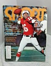 Sport Magazine October 1972 Jim Plunkett New England Patriots - $9.50