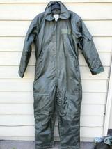Us Air Force Nomex Fire Resistant Flight Suit Green CWU-64/P - 42L - $103.95