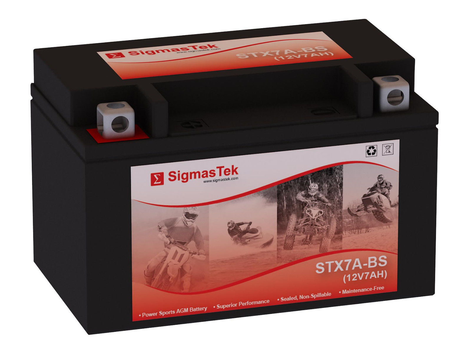Aprilia 450CC RXV450 /2010 Motorcycle Battery/ Replacement By SigmasTek Brand - $27.62