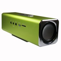 Certified Music Box Mini Portable Speaker (Green) - $12.99