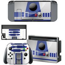 Nintendo Switch Console Joy-Con Dock Vinyl Skin Stickers Decals R2D2 Star Wars - $8.81