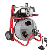 75 Electric Power Machine Auger Cable Clog Drain Cleaner Snake Pipe Sewe... - $745.06