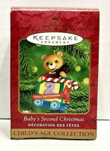 1999 Hallmark Keepsake Baby's Second Christmas Ornament QX6921 - $20.00