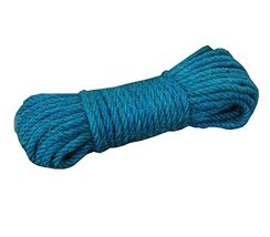 DRAGON SONIC Blue 100% Natural Hemp Rope (6mm),20 Meters(65 ft) for Arts... - $14.98