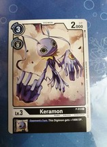 DIGIMON TCG KERAMON P 013 TOURNAMENT PACK CARD - $54.45
