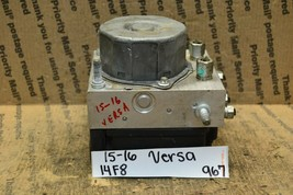 15-16 Nissan Versa ABS Pump Control OEM Module 476609KL0A 967-14f8 - $14.99