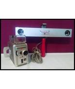 Vintage Kodak Brownie 8mm Movie Camera II F/2.3 Lens With Floodlight - $38.56