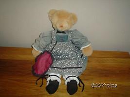 Gund Playthings Past Golden Bear Dressed Retired 1983 - $120.15