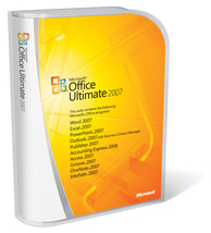 Microsoft Office Ultimate 2007  -  2 PC - genuine - $14.89