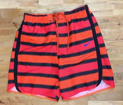 Nike Continuum Volley Short, Orange/Black, Size XL. - $29.69