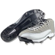 low priced 1c734 463c4 Nike Air Jordan Retro 12 XII Baseball Metal Cleats Mens Size 16 Metallic.