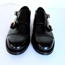 Doble 11 Negro Vestido Brioni Monje Talla US j Zapatos NUEVO Hebilla 3062252 SAP6F6