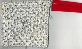Tonia's Feed Sack String Cotton Granny Square Wipe B1 - $10.00