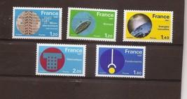 FRANCE Technology 1981 Set of 5 Yvert 2126-30 Scott 1723-27 MNH - $1.38