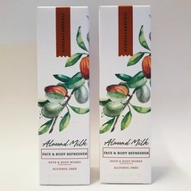 2 Bath Body Works Pure Simplicity Almond Milk Face & Body Refresher Mist... - $23.71