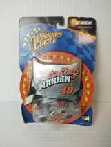 WINNERS CIRCLE STERLING MARLIN #40 NASCAR Diecast Hood & Car 1/64 NEW. B6 - $8.99