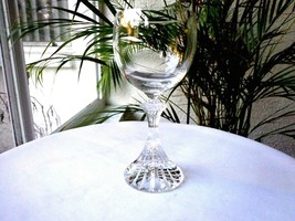 Mikasa Ritz Pattern Clear Crystal Water Goblet - $9.90
