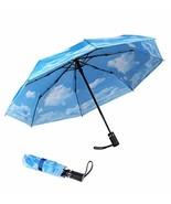 SY COMPACT Travel Umbrella Automatic Windproof Umbrellas-Factory Store - $27.43