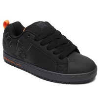 MENS DC COURT GRAFFIK SE SKATEBOARDING SHOES NIB BLACK BATTLESHIP BLACK ... - $62.99